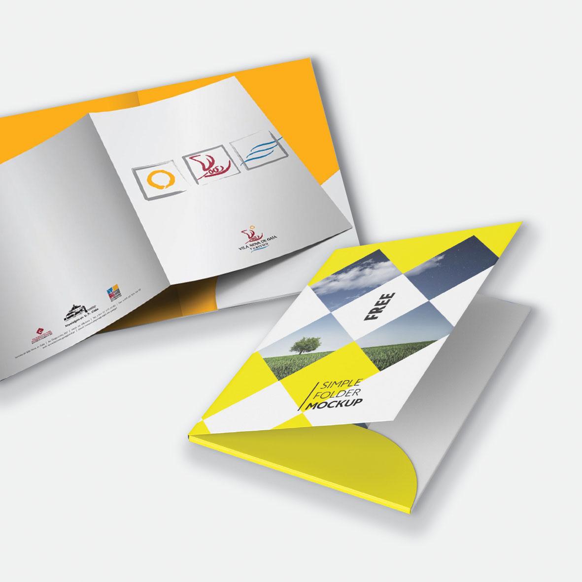 Corporate Presentation Folders Singapore