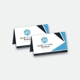 Folded Business Cards Singapore