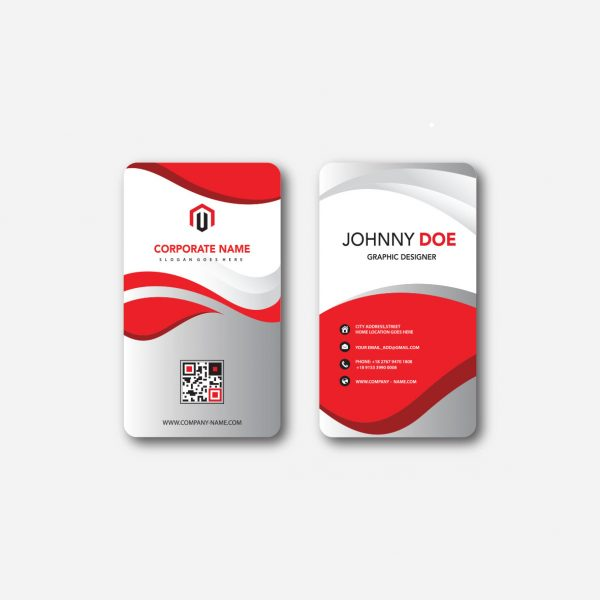 Rounded Corner Business Cards Singapore