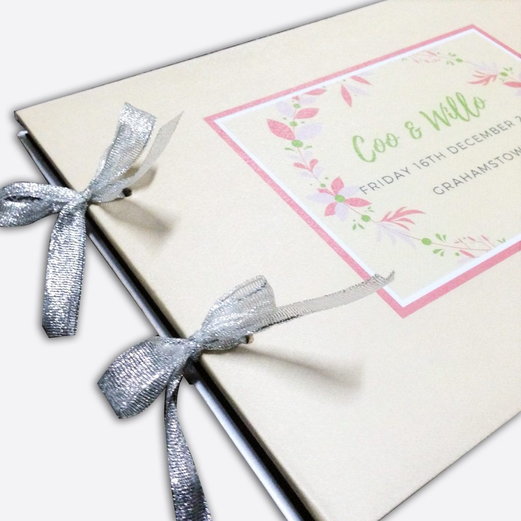 Wedding Guest Book Printing Singapore