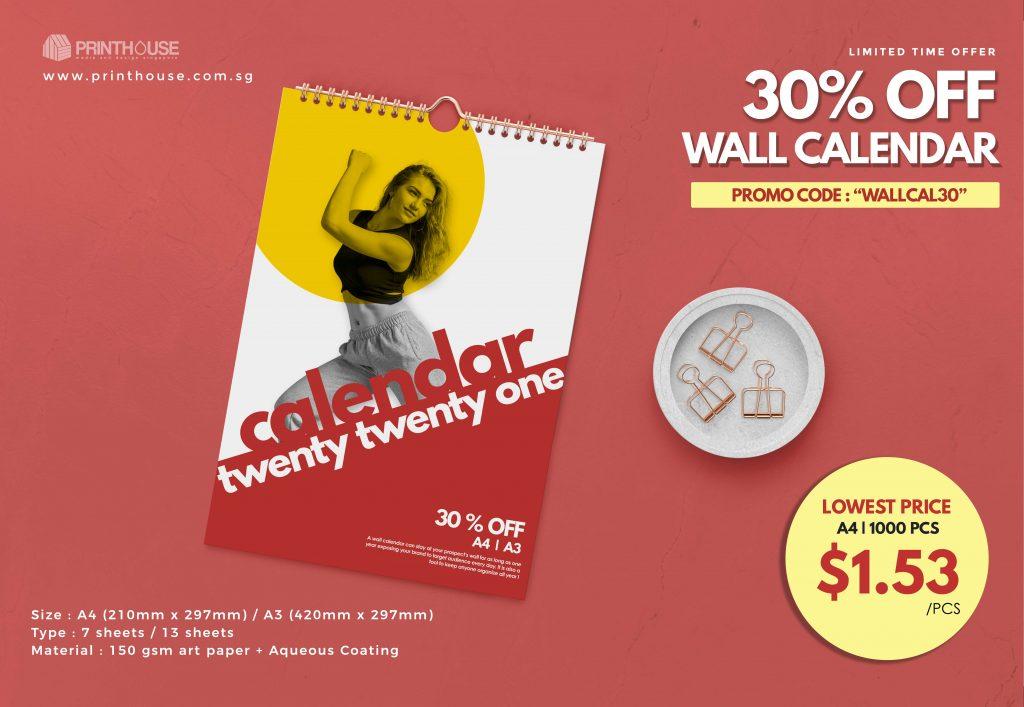 Business calendar 2021 calendar Singapore