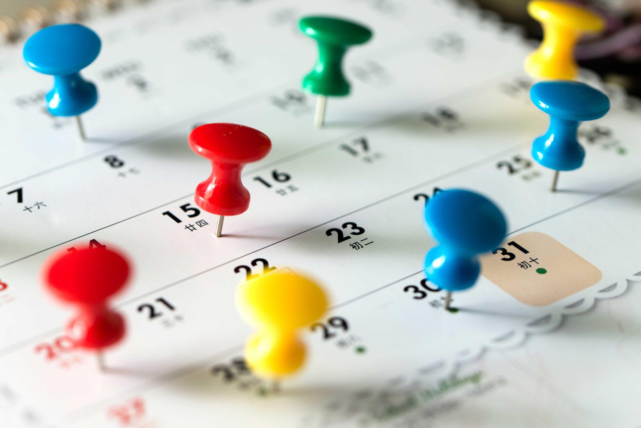 calendar deals